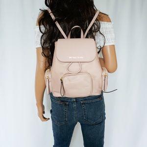 Michael Kors Abbey Cargo MD Nylon Backpack Pink